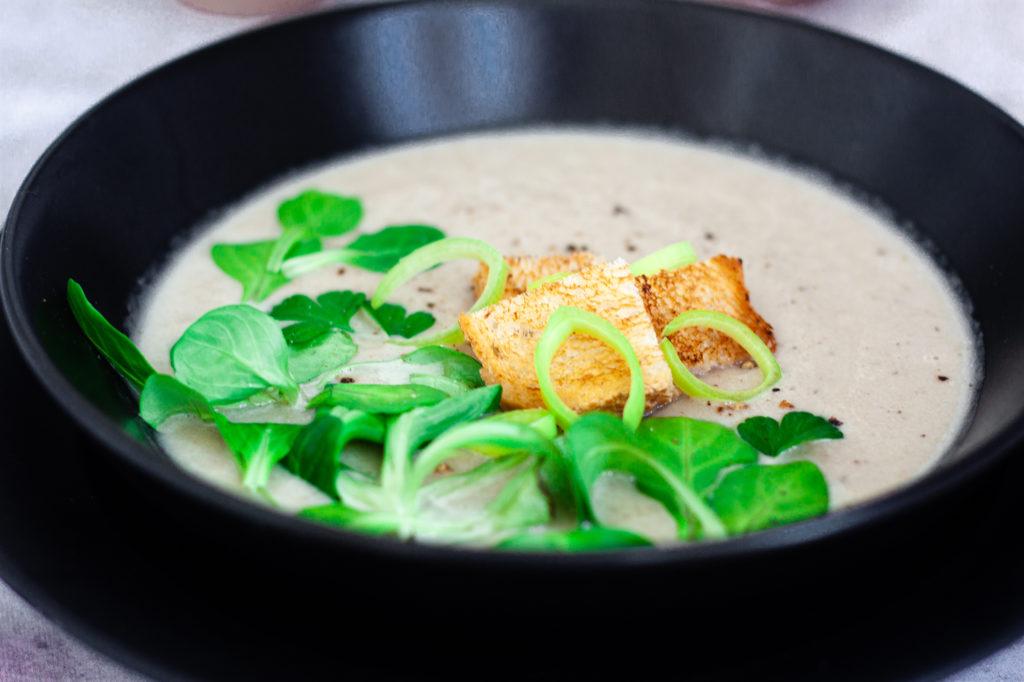 Shallot and Leek Soup