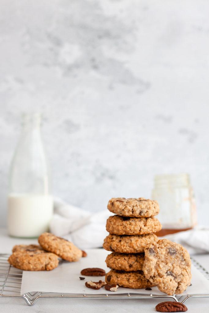 Easy pecan oatmeal cookies