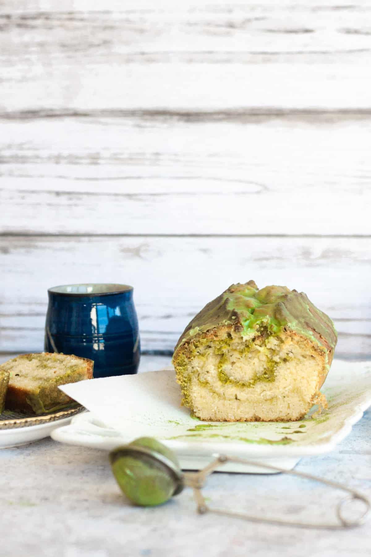 matcha pound cake; the ultimate matcha desert recipe