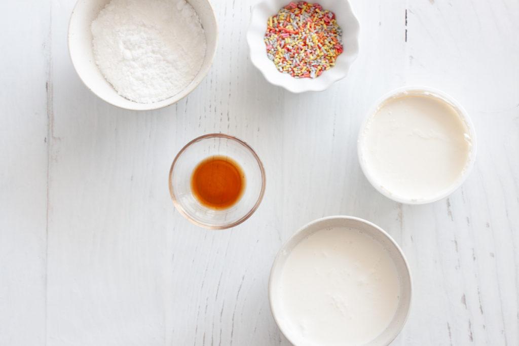 ingredients for mascarpone frosting